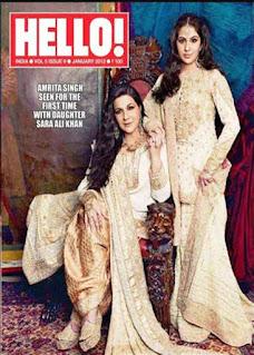 Sara Ali Khan on Hello Poster