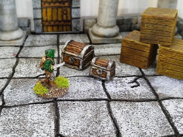 Treasure chests! Quick, check for traps...