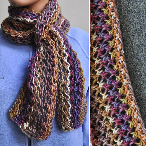 Colorful Lace Scarf - Free Pattern