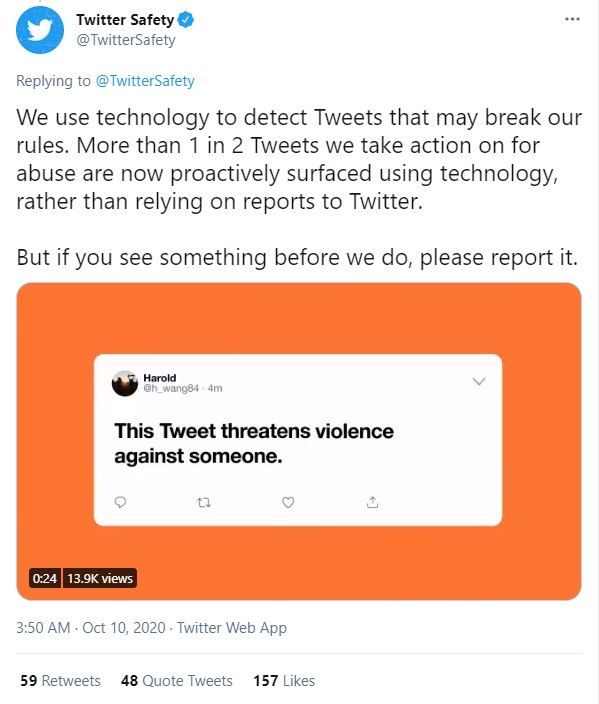 Blocking and Reporting