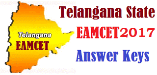Telangana Eamcet Key 2017 Engineering Answer Paper Download Set Wise @ eamcet.tsche.ac.in