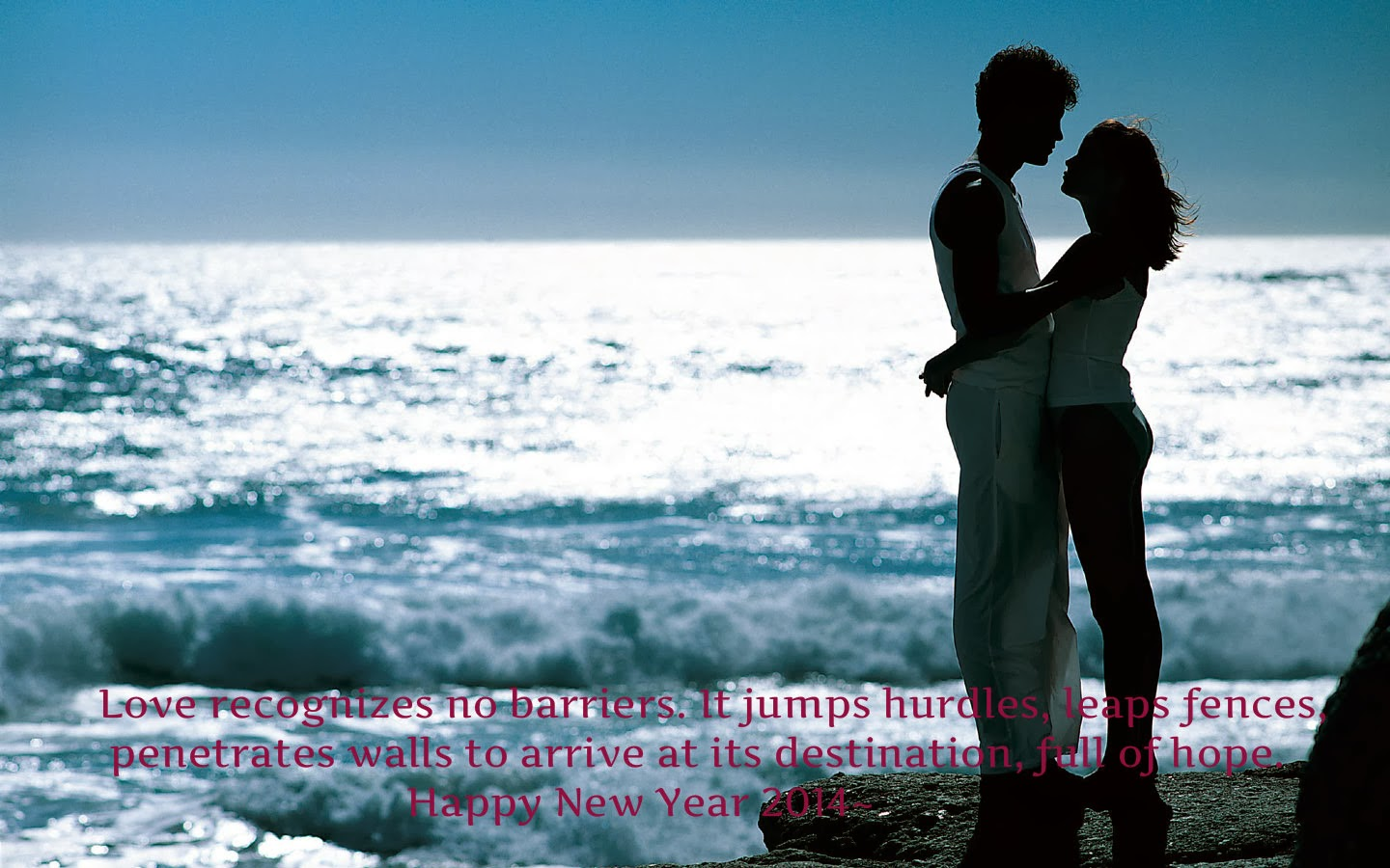 Happy New Year Love Quotes 2014 for Lovers | Five Best New ...