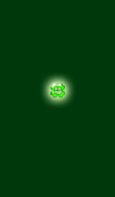 Green Crystal Clover 2