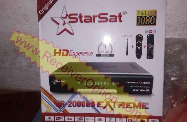 STARSAT SR-2000HD EXTREME RECEIVER NEW SOFTWARE V2.72