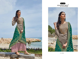 Shahnaz Arts Kashvi Jam Satin Salwar Kameez Collection