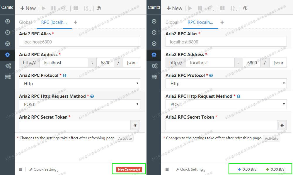 Using Remote aria2c with SpeedPan