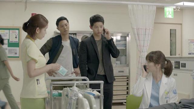 Review Drama Korea | Descendants of The Sun Song-Song Couple