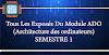 Tous Les Exposés Du Module ADO (Architecture des ordinateurs) SEMESTRE 1