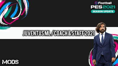 PES 2021 ML Coach & Staff Juventus by Kunpup