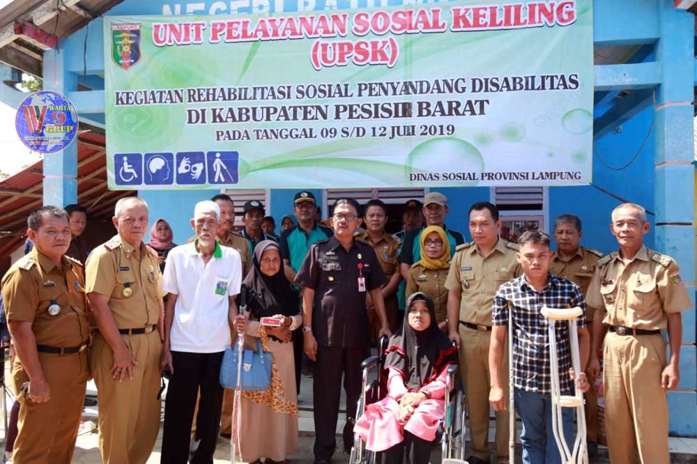 Unit Pelayanan Sosial Keliling, Hadir di Pesisir Barat