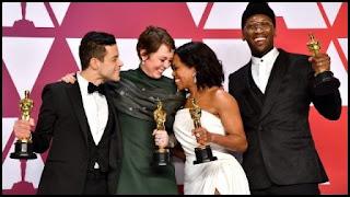 Malek, Colman, King y Ali, Premios Oscar 2019