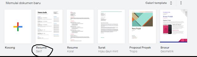 Cara mengetik dengan suara di google docs, Cara memunculkan fitur dikte di google docs