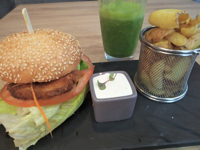 burger vegano al fat pumpkin