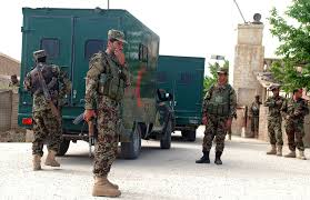 Five Afghan Security Officers Killed In Taliban Attacks