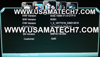 1506t SGB1 New Software