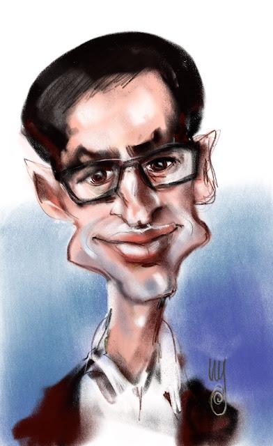 Peter Woldarski karikatyr av Artmagenta