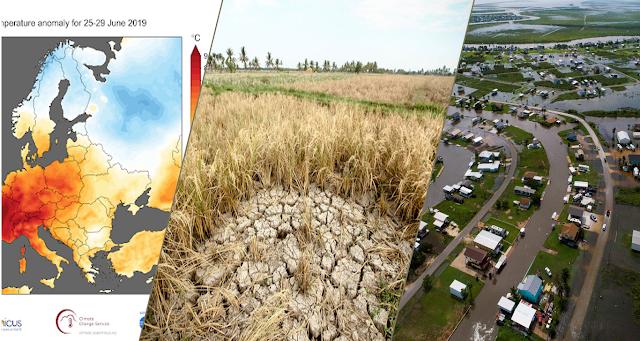 Cuaca dan Iklim Ekstrem selama 2019 di Indonesia dan Dunia