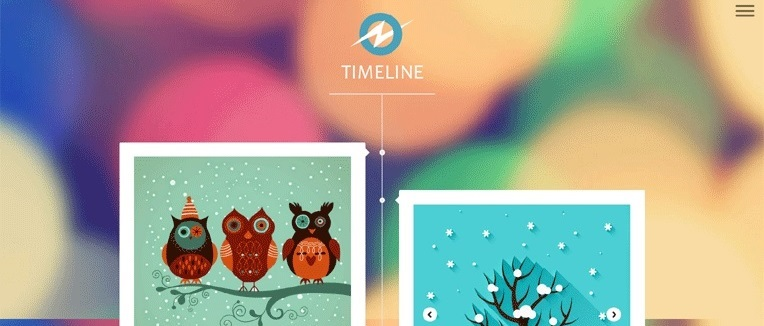 TimeLine Discovery Responsive Blogger Template
