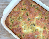 Easy Green Chile Egg Casserole
