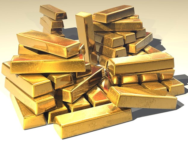 Gold Bars, Gold Investment, Gold, Finance, Investment