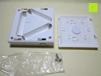 Batteriefach geöffnet: ANSMANN Guide Free Motion LED-Orientierungslicht mit integriertem Dämmerungssensor und Bewegungsmelder Kind Baby Senioren mobil universal