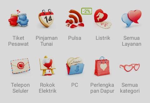 Anda bisa membeli produk apa pun seperti Voucher Indomaret, Alfamart, isi pulsa, token listrik & air, Top-up games, handphone dan lain-lain hanya dengan kredit limit di merchant ataupun Kupon/Voucher.