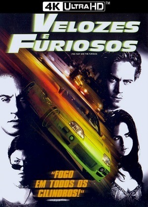 Filme Velozes e Furiosos 4K 2001 Torrent Download