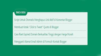 Cara Membuat Artikel Terkait (Related Post) di Tengah Postingan Blogger Versi Igniel
