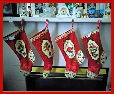 Christmas Stockings for St. Nicholas Day