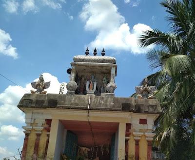 Kothandaramar Temple Paruthicheri Thanjavur