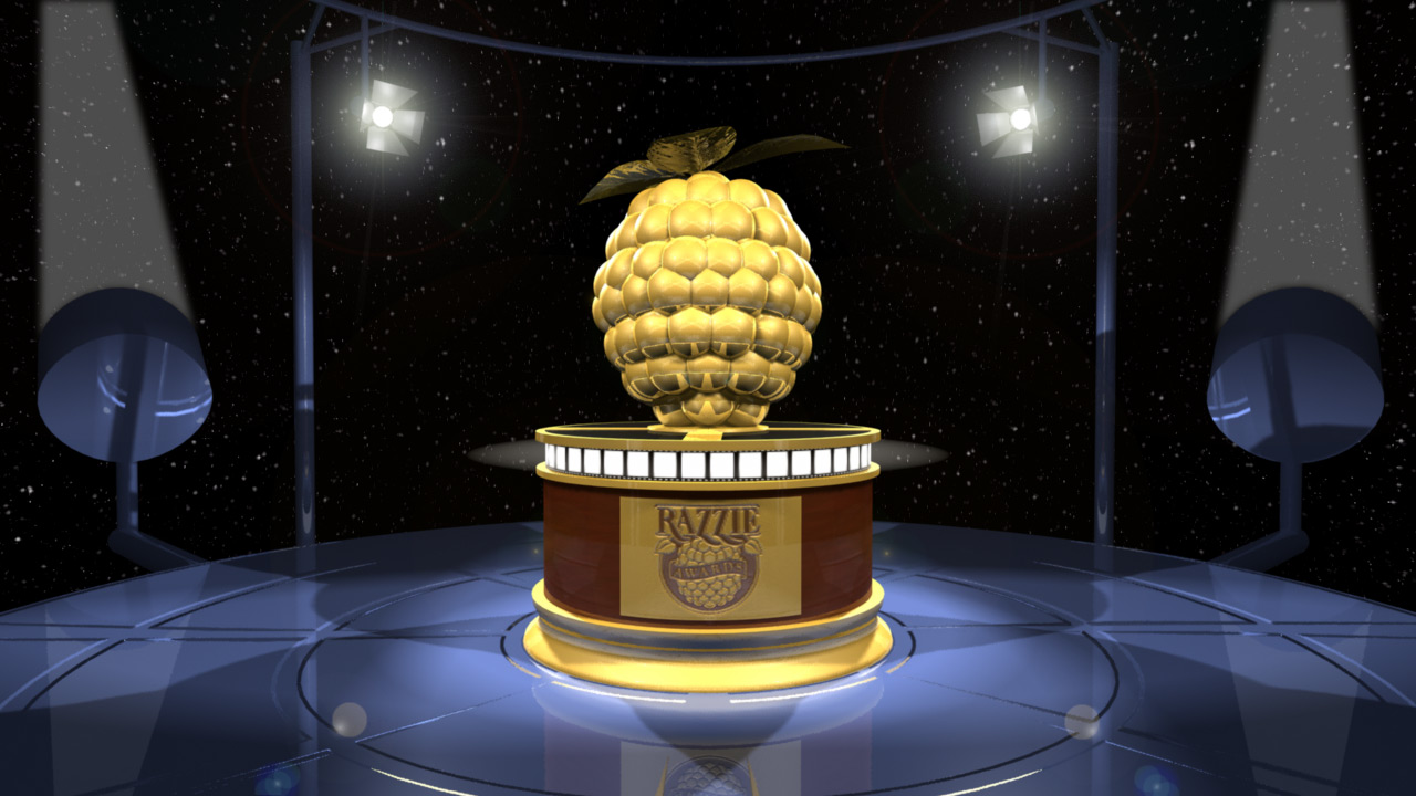 Full winners list of Razzies 2018 results Golden Raspberry Awards 38th Annual