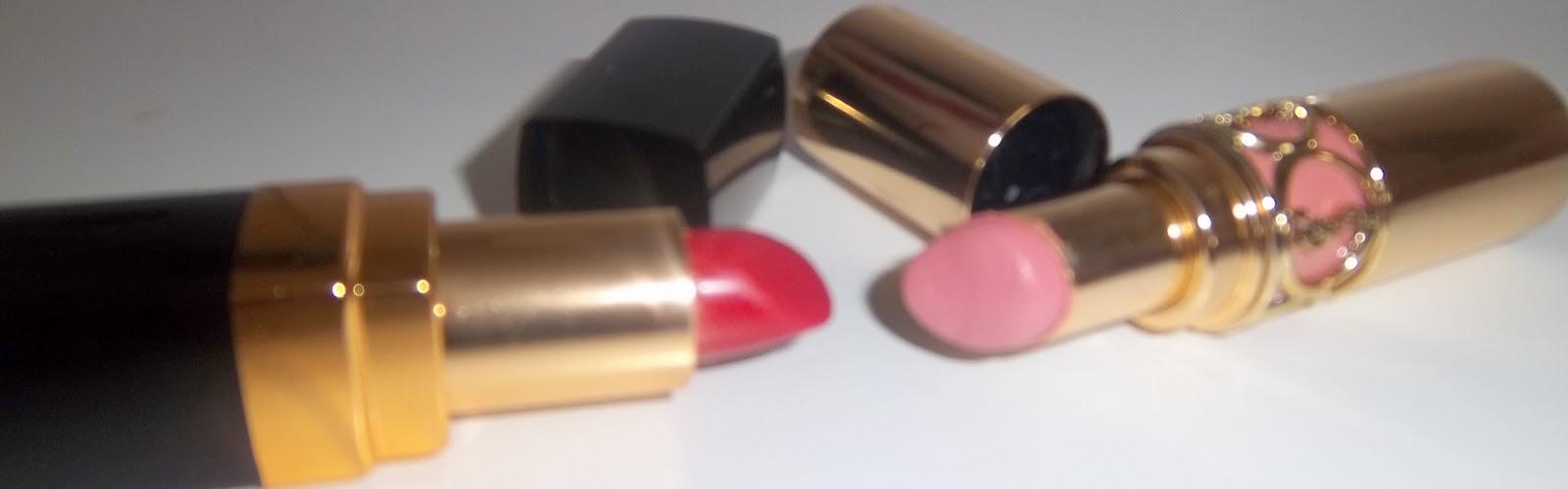 BLOG Review - Chanel Lipstick VS YSL Lipstick