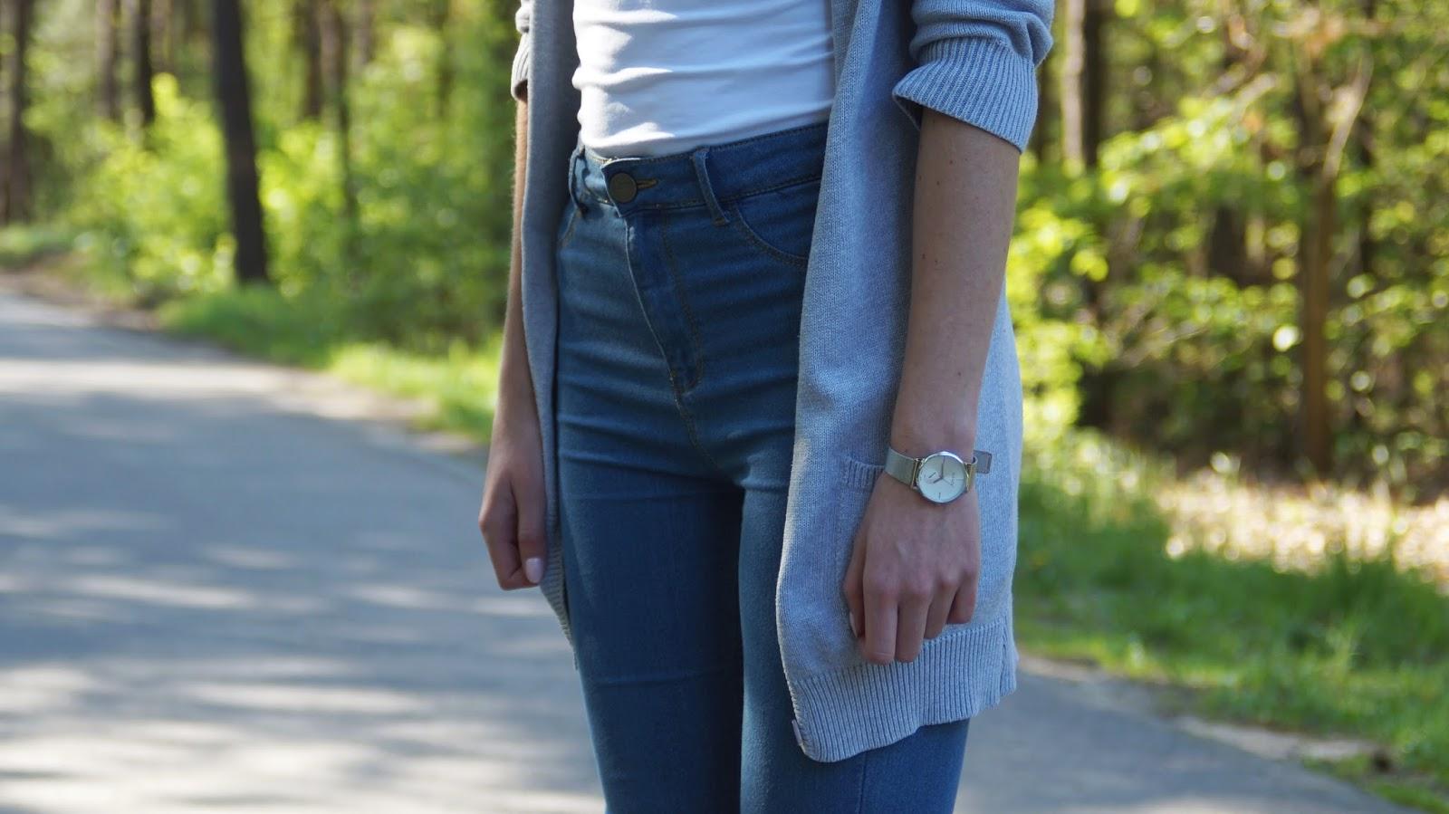Modowe przemyślenia - długi sweter i espadryle