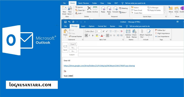 Cara Mengirim File Berukuran Besar dengan Outlook
