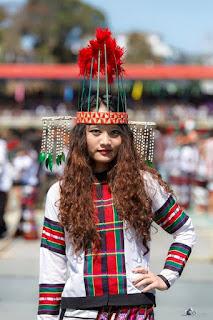 The Mizo Traditional Dress 2018