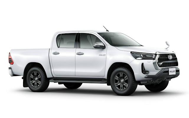 Toyota Hilux 2021 recebe facelift no Japão - fotos e detalhes