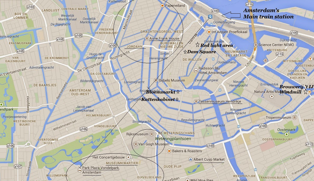 Where to stay in Amsterdam, and a few cool places to visit - a visitor ap
