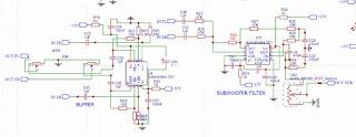 subwoofer filter ne5532 4558