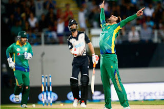 New Zealand vs Pakistan 1st T20I 2016 Highlights