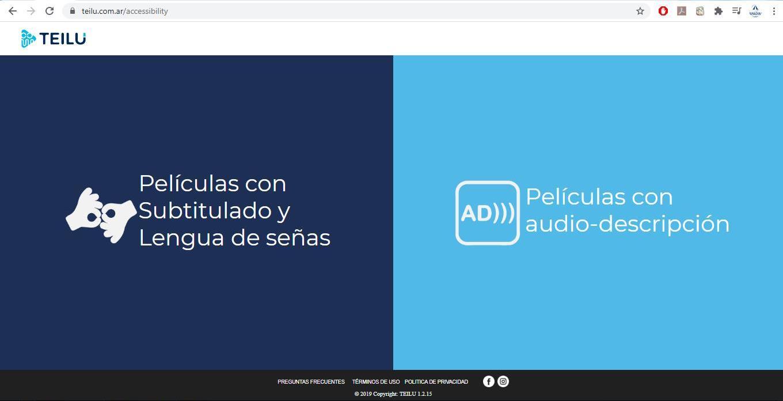 Películas y series adaptadas: La innovación cordobesa de la Plataforma TEILÚ