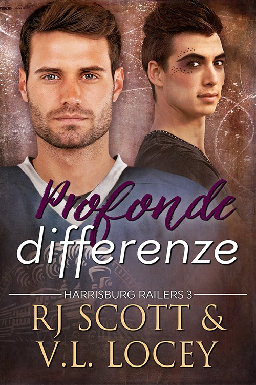 "Libri in uscita: ""Profonde differenze"" (Serie Harrisburg Railers #3) di RJ Scott & V.L. Locey"