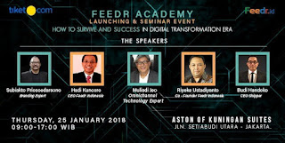 cari tiket seminar feedr academy launching and seminar event di Aston Of Kuningan Suite Jakarta