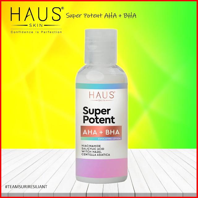 Haus Skin Super Potent AHA+BHA Exfoliating Lotion 50ml - (NOT210201509K)
