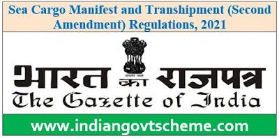 Sea Cargo Manifest and Transhipment