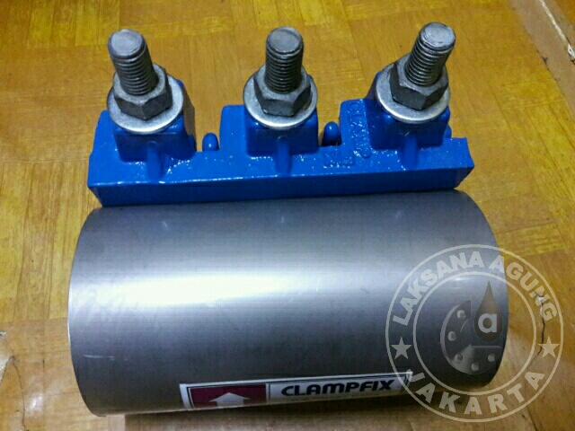 JUAL REPAIR CLAMP DCI  STAINLESS STEEL