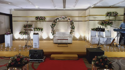 Wedding Stage Decoration in Kerala