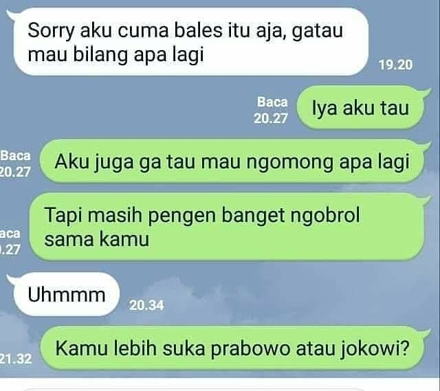 11 Meme Lucu 'Chat PDKT' Ini Bikin Males Ngejomblo