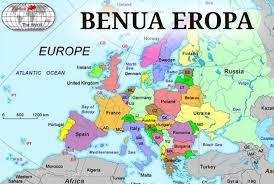 Batas Wilayah Benua Eropa di Sebelah Utara, Timur, Barat, dan Selatan