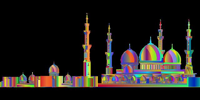 صور مساجد ملونة جميلة جدا