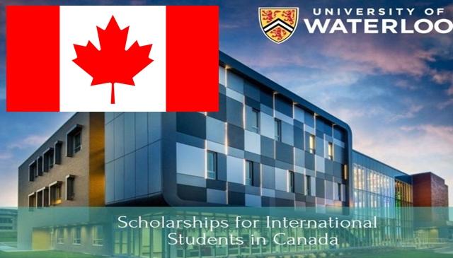 منحة مقدمة من جامعة واترلو لدراسة الماجستير في كندا